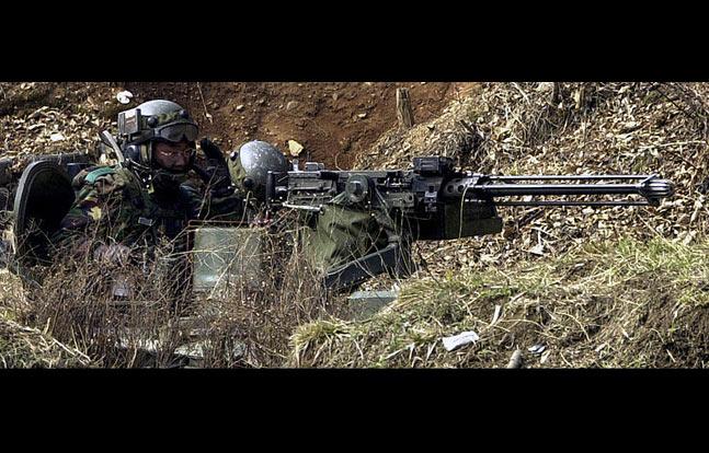 Daewoo K6   12 Rifles, Machine Guns, Shotguns, & Pistols Used by ROK Marines