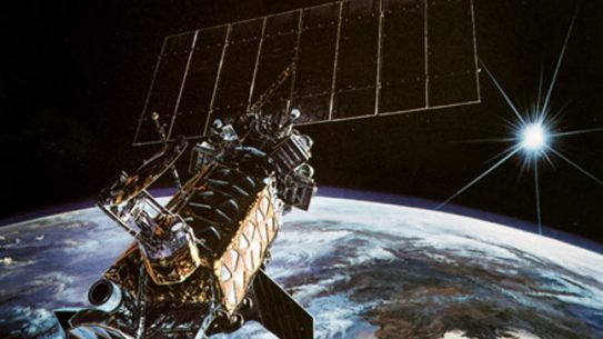 A military weather satellite housed at a Lockheed Martin facility in Sunnyvale, Calif. for over 15 years finally launched from Vandenberg Air Force Base.
