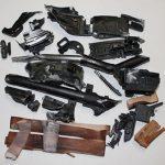 Pulverized AK-47