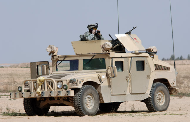 The US is selling 3,335 Humvees to Mexico for anti-drug operations.