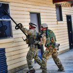 """ALERRT's """"First Responder Breaching"""" course teaches LEOs to use both manual and ballistic breaching tools to gain entry."""