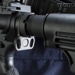 DoubleStar equips the carbine with its Double Loop single-point sling adapter, which allows operators to install a sling on either side.