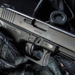 The G41's Gen4 frame allows it to fit a variety of hand sizes. It also has Glock's standard Safe Action features, including a trigger safety.