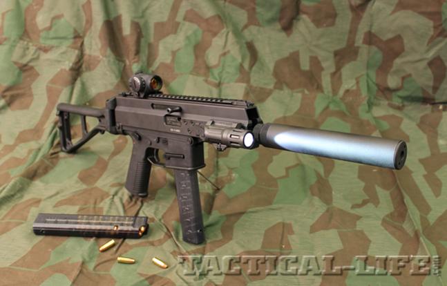 Swiss firm B&T's pistol caliber APC Patrol Carbine