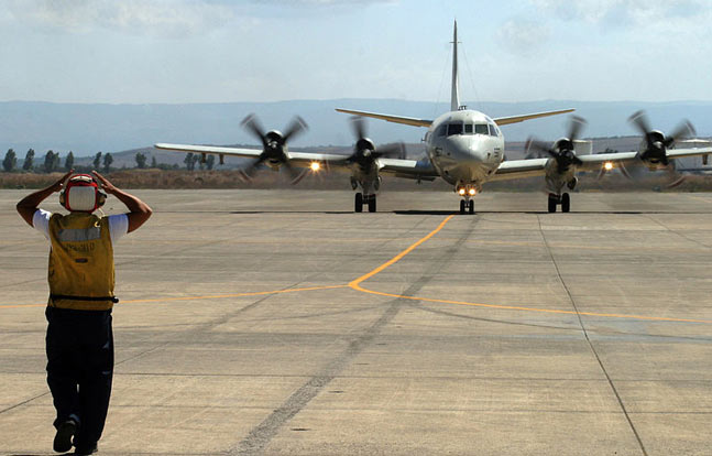 US crisis response Marines have moved from Spain to Naval Air Station Sigonella in Italy.