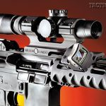 The upper receiver features a Picatinny rail that mates with that of the VRS-T handguard to provide plenty of space for mounting optics.