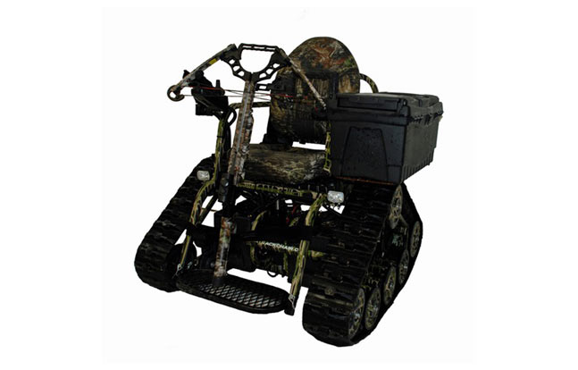 Freedom Alliance gave Amos a Trackchair similar to this one.