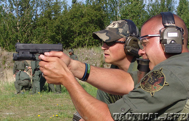 Alaska State Troopers Handgun