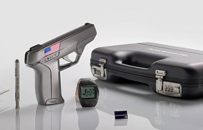 armatix iP1 pistol smart guns