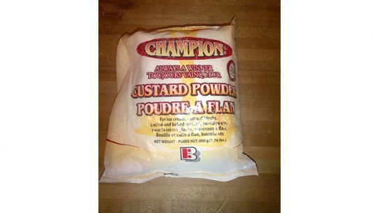 Cocaine Custard Powder JFK