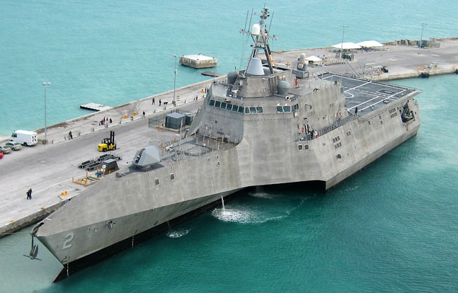 USS Independence (LCS-2) is the lead ship of the Independence-class littoral combat ship.