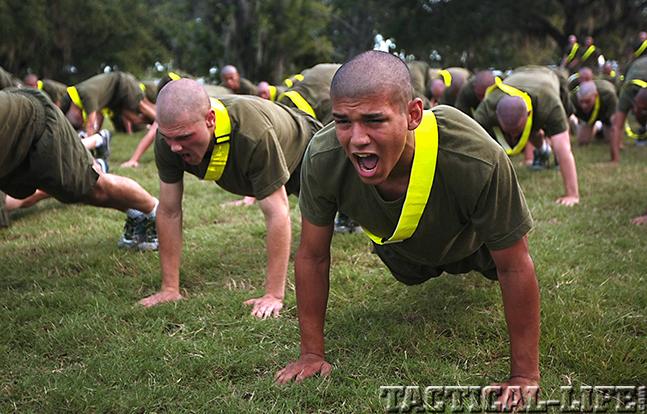 Marines Pushups