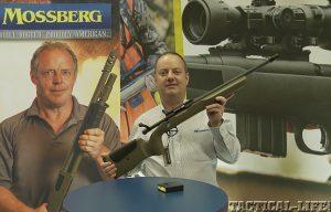 Mossberg MVP Red Jacket Tactical Target bolt‐action rifle