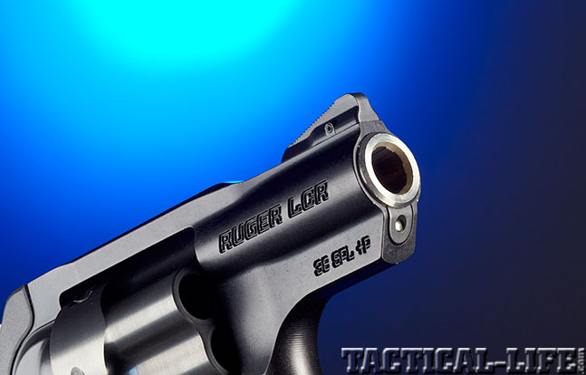Ruger LCRx front sight zoom