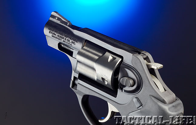 Ruger LCRx rear sight