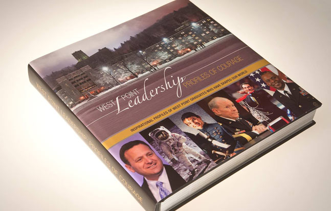 """The book """"West Point Leadership: Profiles in Courage"""" profiles 200 West Point graduates who have helped shape the world we live in today."""