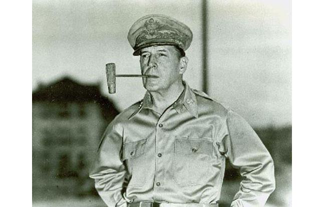West Point Douglas MacArthur pipe