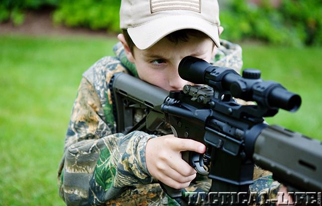 6.8 SPC AR Rifle tanner aim