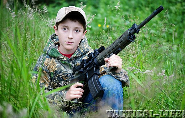 6.8 SPC AR Rifle tanner