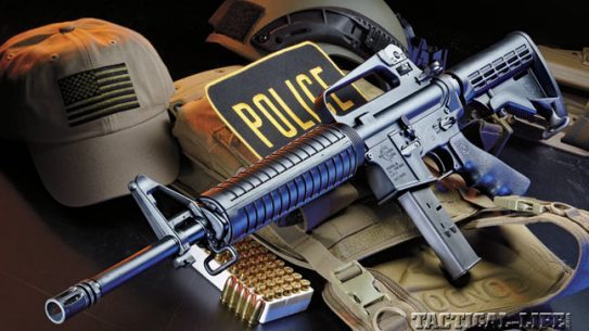 Rock River's LAR-9 looks like an AR-15, acts like an AR-15, but fires 9mm cartridges reliably and accurately downrange.