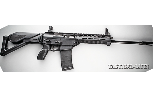 The SIG556xi can be quickly modified to accept new calibers, barrels, stocks and more. In essence, officers can be equipped with just the right configuration for their assigned task.