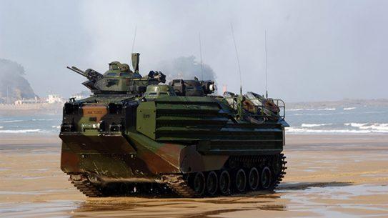 AAV7A1 amphibious assault vehicle