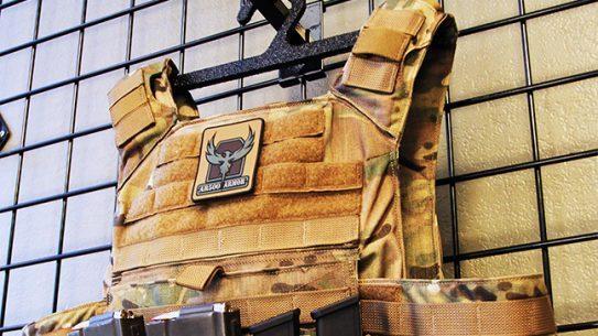 AR500 Armor Level III Body Armor Hanger lead