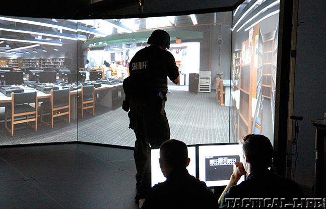 Artemis Defense simulator sheriff