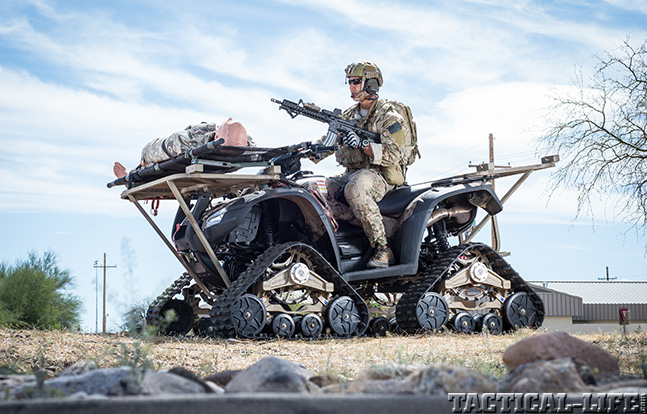 ATVs armed wounded