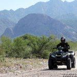 ATVs mountains lead