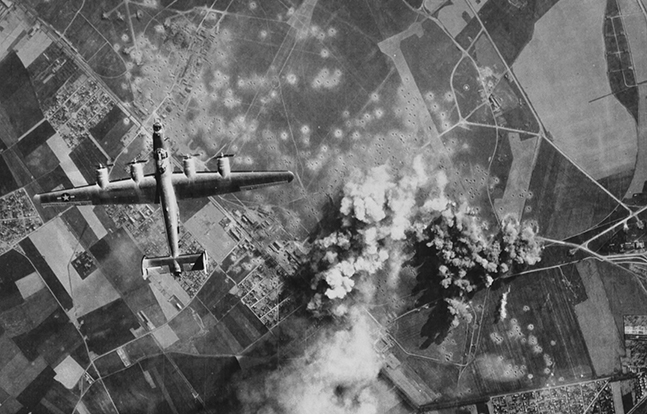 D-Day Consolidated B-24 Liberator