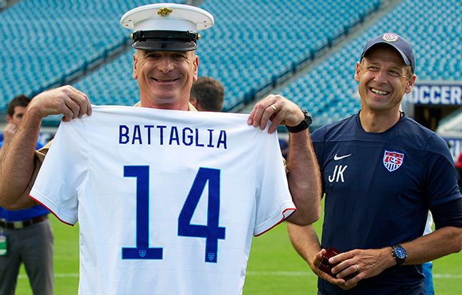 Battaglia U.S. Men's National Soccer Team
