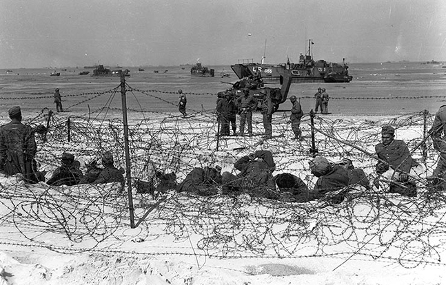 D-Day German Prisoners
