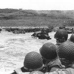 D-Day Omaha Beach approach
