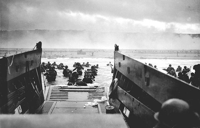 D-Day Omaha Beach lead