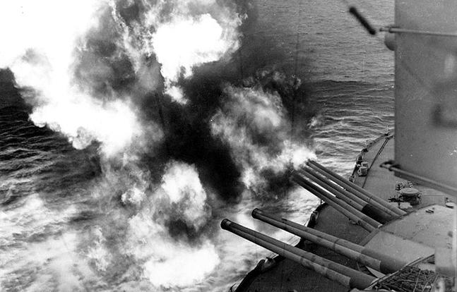 D-Day USS Nevada