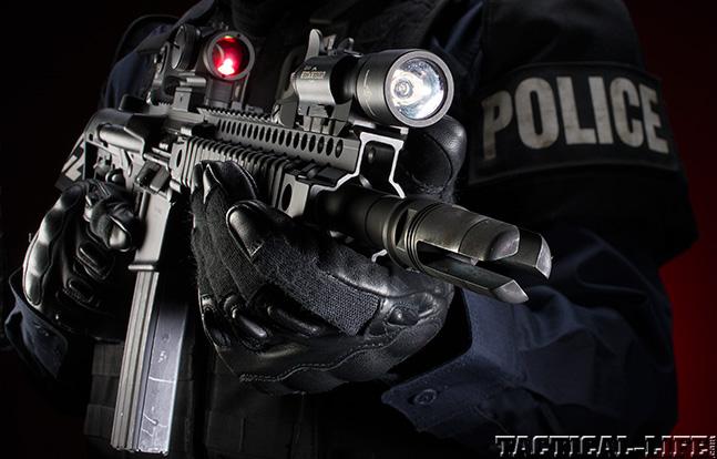 Daniel Defense M4V4 SBR muzzle upper