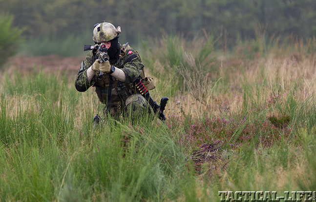 Danish Special Operations field exercise