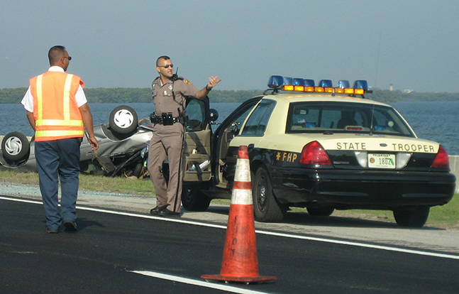 Move Over law Florida Highway Patrol