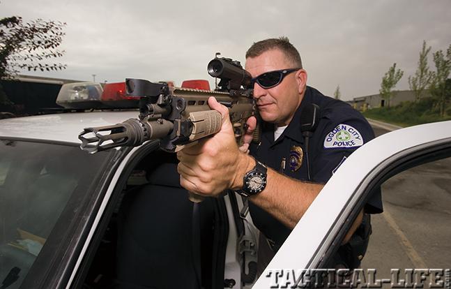 FN SCAR police
