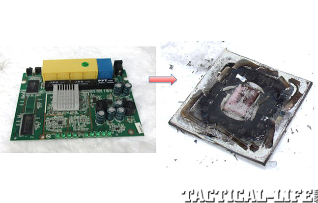 General Atomics Self-Destructing Electronics