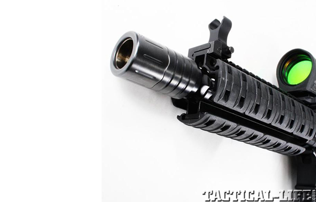 IROC Muzzle Brake gun