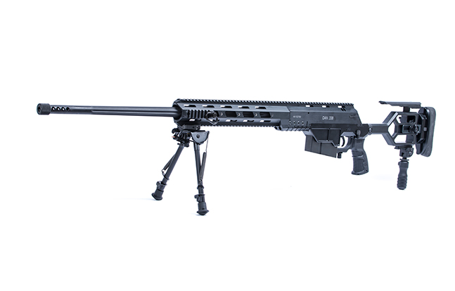 Israel Weapon Industries DAN .338 Bolt Action Sniper Rifle left