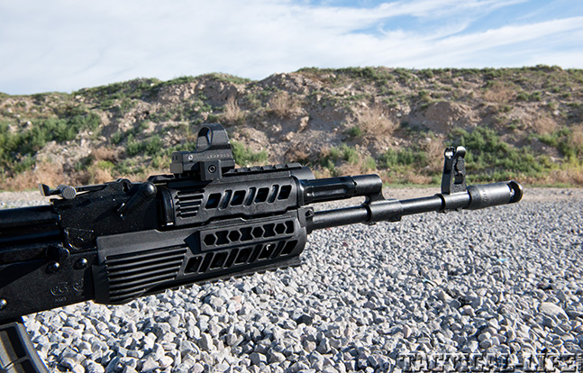 IS132SM Saiga right side front