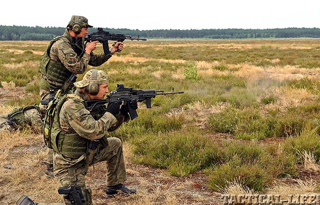 JWK Polish Commandos engaging