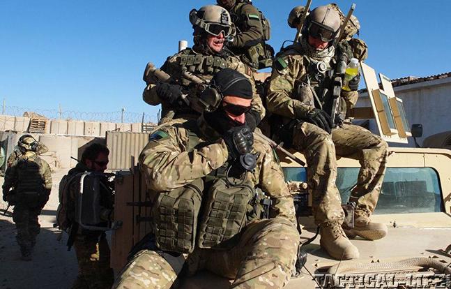 JWK Polish Commandos kitted up