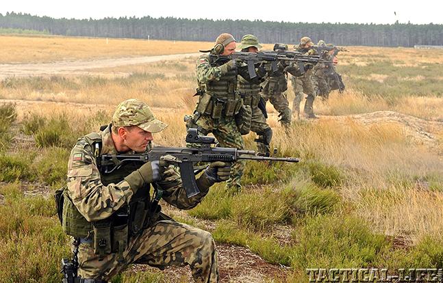 JWK Polish Commandos rifles