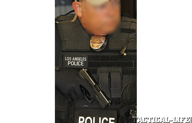 Los Angeles Police Department drawn