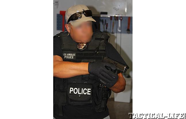 Los Angeles Police Department field