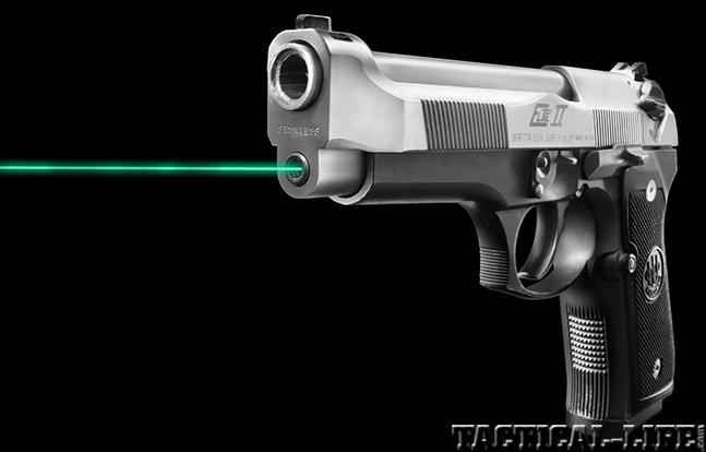 Beretta 92 LaserMax Green Guide Rod Laser